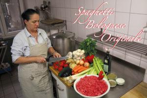 frische Bolognese Zutaten